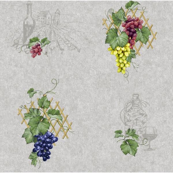 Влагостойкие обои Континент 2151 Виноград